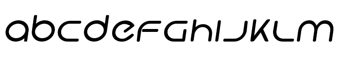 Hi. Bold Oblique Font LOWERCASE