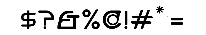 Hi. Bold Font OTHER CHARS