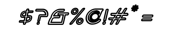 Hi. Outline Oblique Font OTHER CHARS