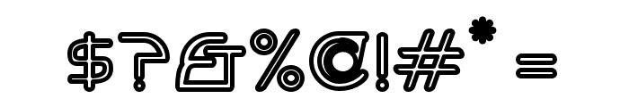 Hi. Outline Font OTHER CHARS