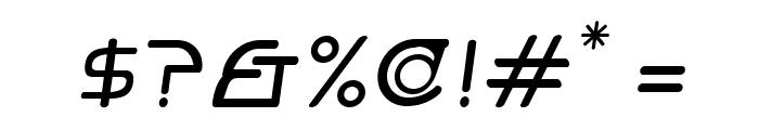 Hi. Regular Oblique Font OTHER CHARS