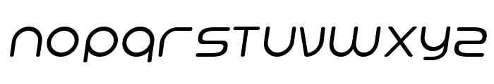 Hi. Regular Oblique Font UPPERCASE