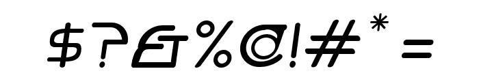 Hi. Tall Obl Font OTHER CHARS