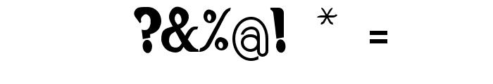 Hiatus-Regular Font OTHER CHARS