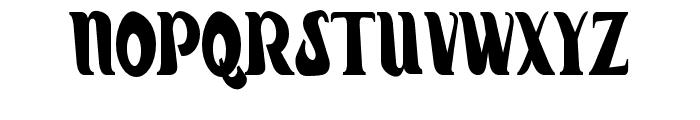 Hiatus-Regular Font UPPERCASE