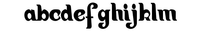 Hiatus-Regular Font LOWERCASE