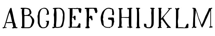 Hidden Cinema Font LOWERCASE