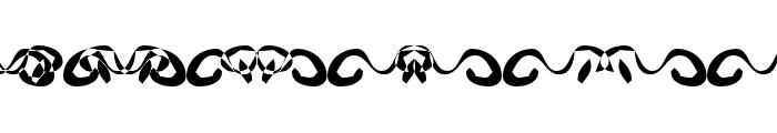 Hidden Ghosts Font UPPERCASE