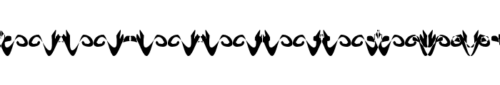 Hidden Ghosts Font LOWERCASE