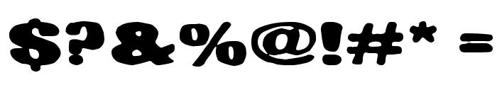 Hiekkalasi Font OTHER CHARS