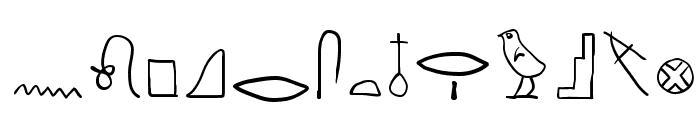 HierobatsSketches Font UPPERCASE