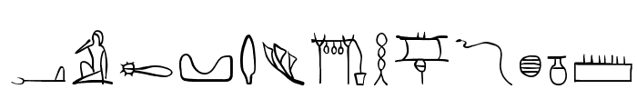 HierobatsSketches Font LOWERCASE