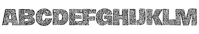 Hierograf Black PERSONAL USE Font UPPERCASE