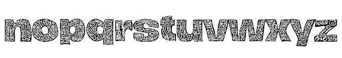 Hierograf Black PERSONAL USE Font LOWERCASE