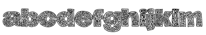 Hierograf PERSONAL USE Font LOWERCASE