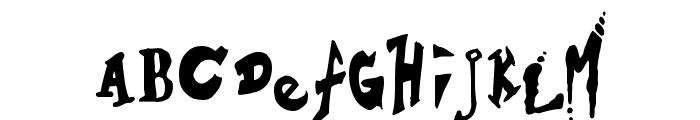 Hieronymous Boschian Font LOWERCASE