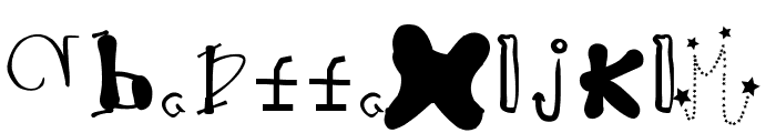 HieronymusBosch Font LOWERCASE