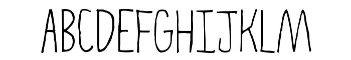 High Fiber Font UPPERCASE