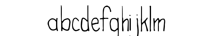High Fiber Font LOWERCASE
