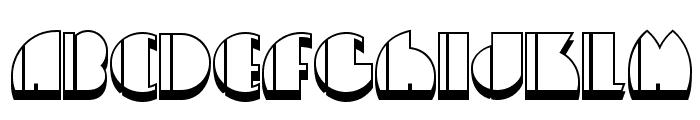 High Five Jive NF Font UPPERCASE