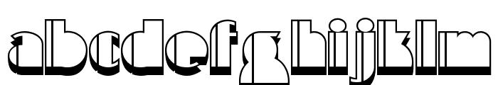 High Five Jive NF Font LOWERCASE