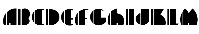 High Five NF Font UPPERCASE