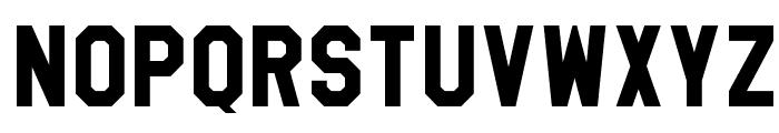 High School USA Sans Font LOWERCASE