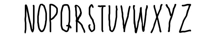 High Sign Font UPPERCASE