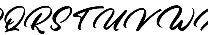 High Sky Font UPPERCASE