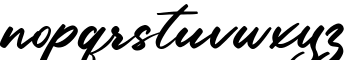 High Sky Font LOWERCASE