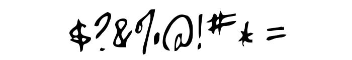 High Strung Font OTHER CHARS