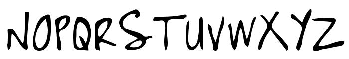 High Strung Font UPPERCASE