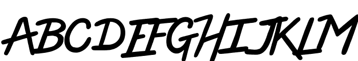 High Voltage Font UPPERCASE