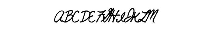 HighBoat Font UPPERCASE