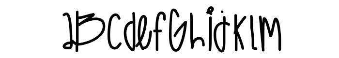 HighCastleBass Font LOWERCASE