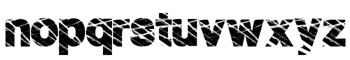 HighFence Font LOWERCASE