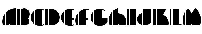 HighFive Font UPPERCASE