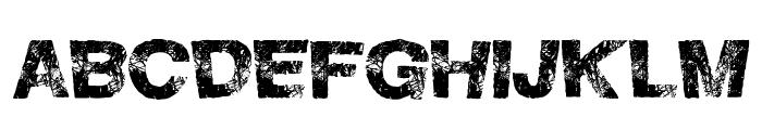 HighFlight Font UPPERCASE