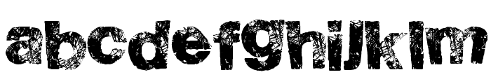 HighFlight Font LOWERCASE