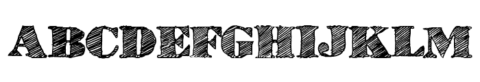 HighLines Font UPPERCASE