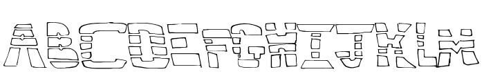 HighMethod Font UPPERCASE
