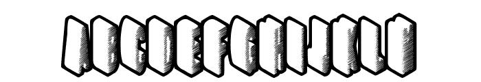 HighRating Font UPPERCASE