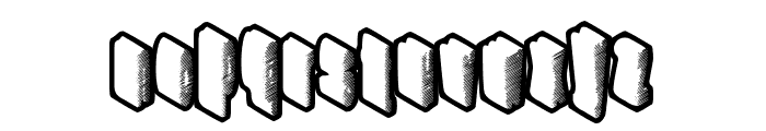 HighRating Font LOWERCASE