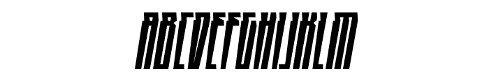 HighRise BB Italic Font UPPERCASE