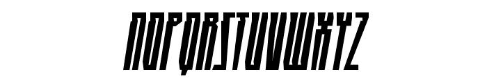 HighRiseBB-Italic Font UPPERCASE