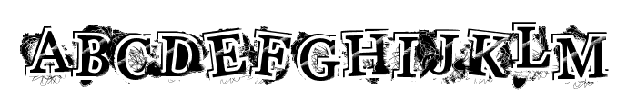 HighStyle Font UPPERCASE