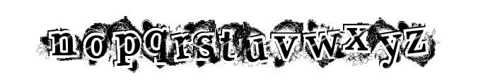 HighStyle Font LOWERCASE