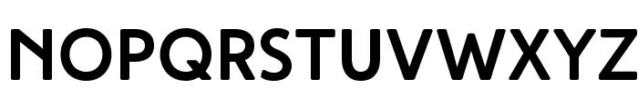 HighTideBold Font UPPERCASE