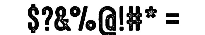 HighVoltage Rough Font OTHER CHARS