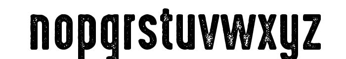 HighVoltage Rough Font LOWERCASE